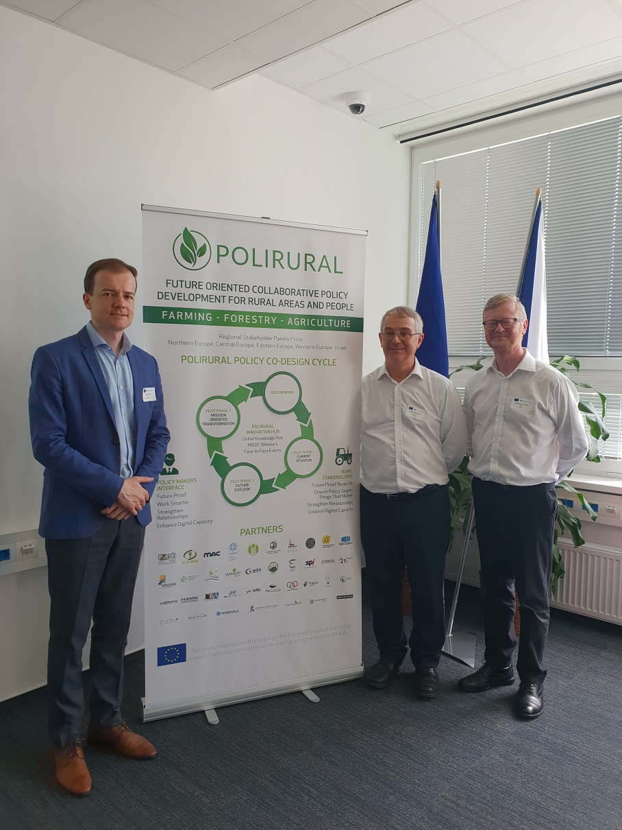 PoliRural Kick off Event Prague June 2019